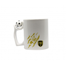 Ceramic Mug of Coffee and Tea with Al-Ittihad Logo